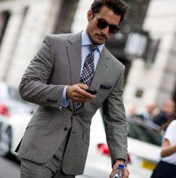 Style Watch David Gandy At London Collections Men