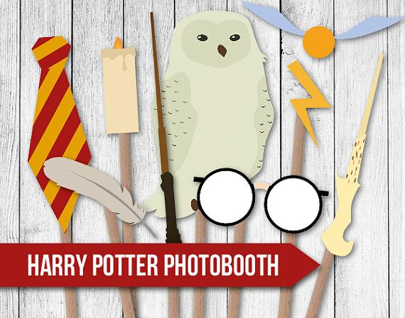 Smart image for harry potter printable props