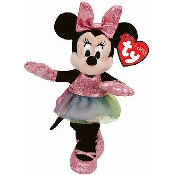 3392c888ade Ty Disney Laughing Minnie Mouse Beanie Boo Soft Toy with Ballerina Dress.  15 x 11.6 x 7.6 cm £7.56 free delivery