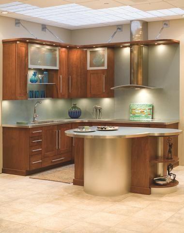 Kitchen Showcases - Custom Kitchen Cabinets - LaFata ...