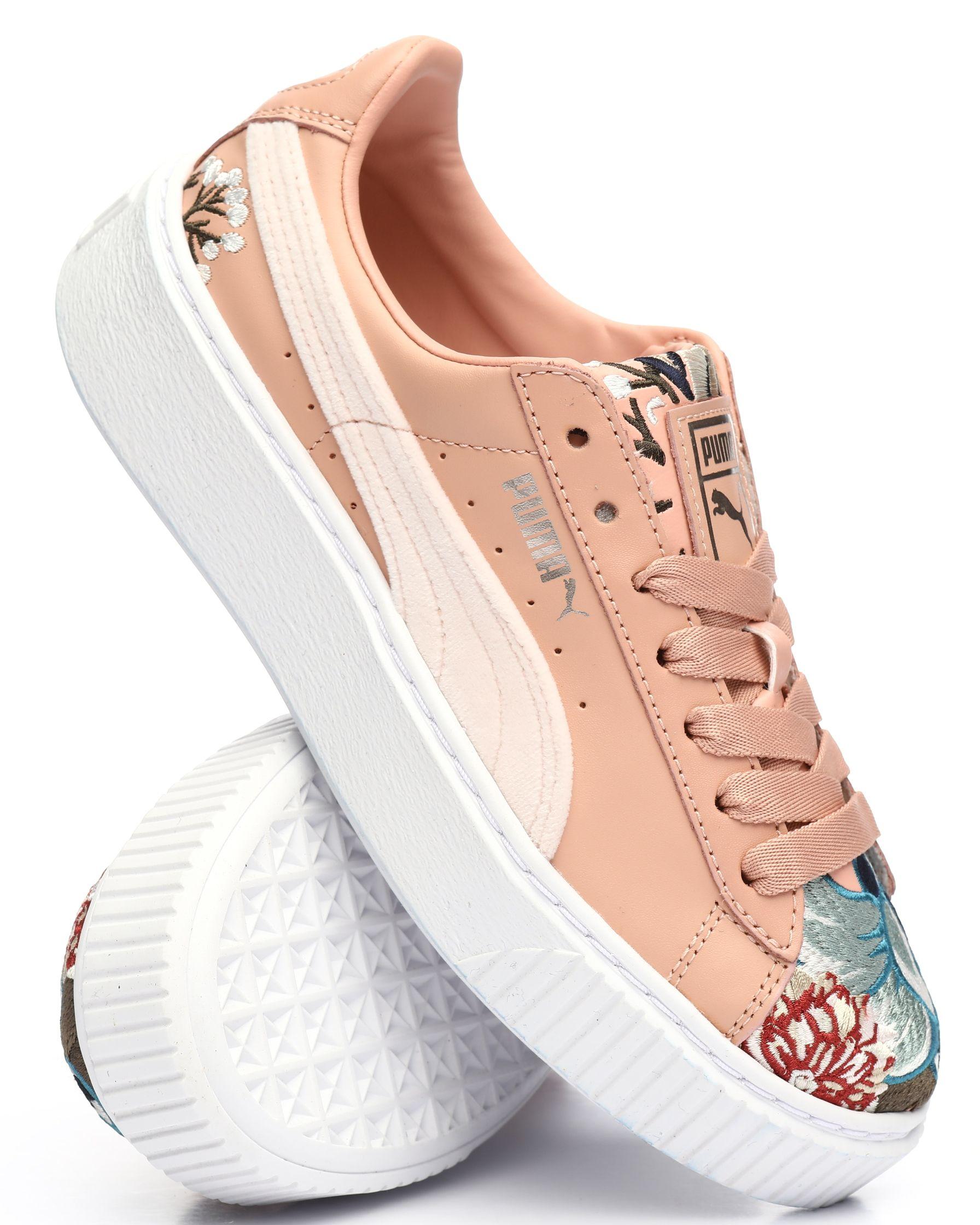 Platform Hyper Embossed Sneakers Women