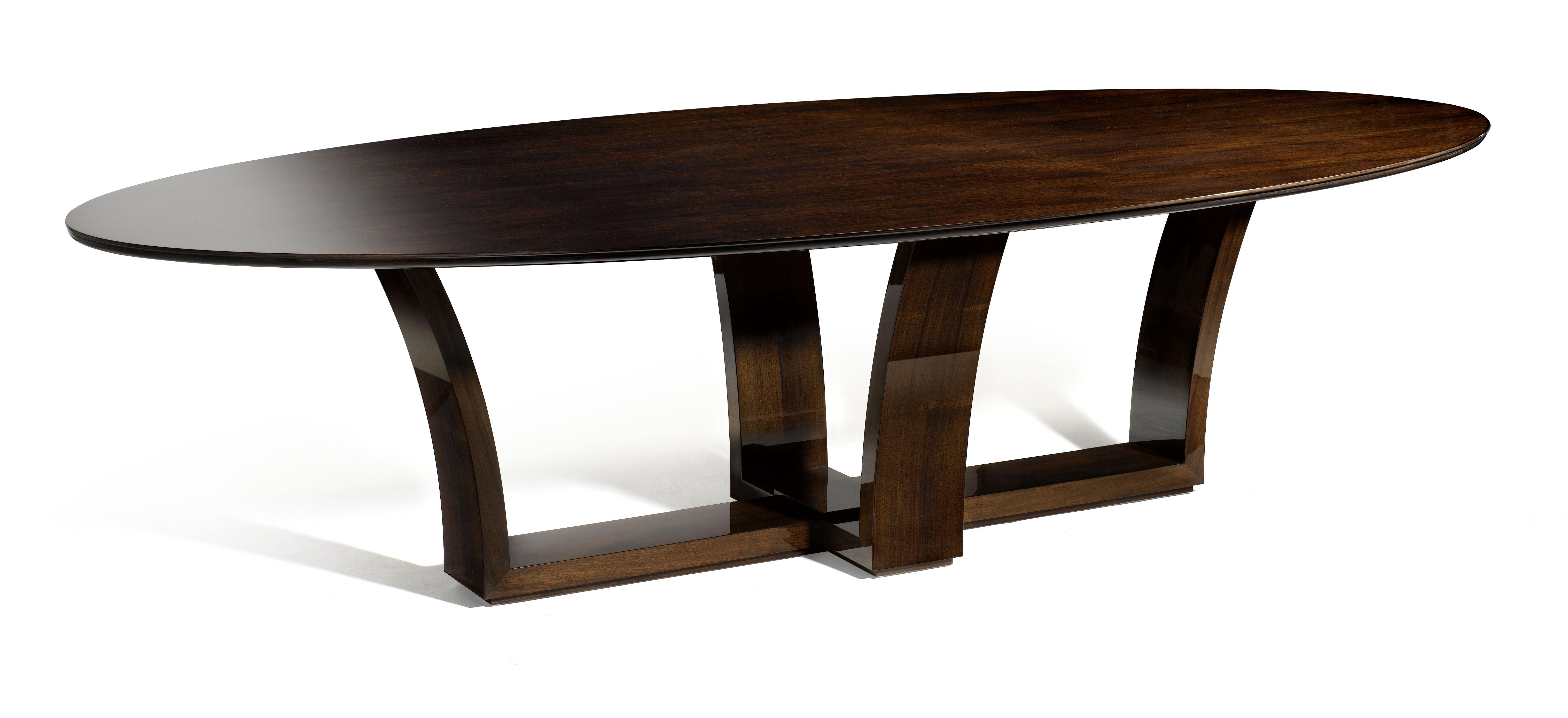 Davidson London The Lexington Table In Tinted Walnut Luxury