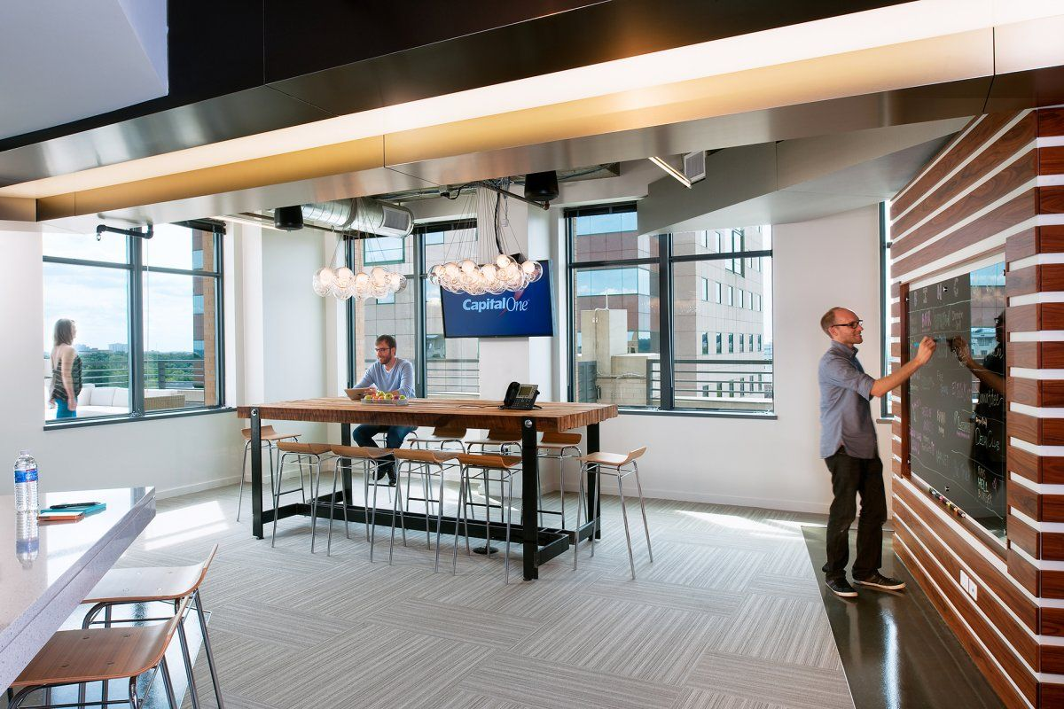 Otj architects have designed capital one s innovation lab for Innovation lab