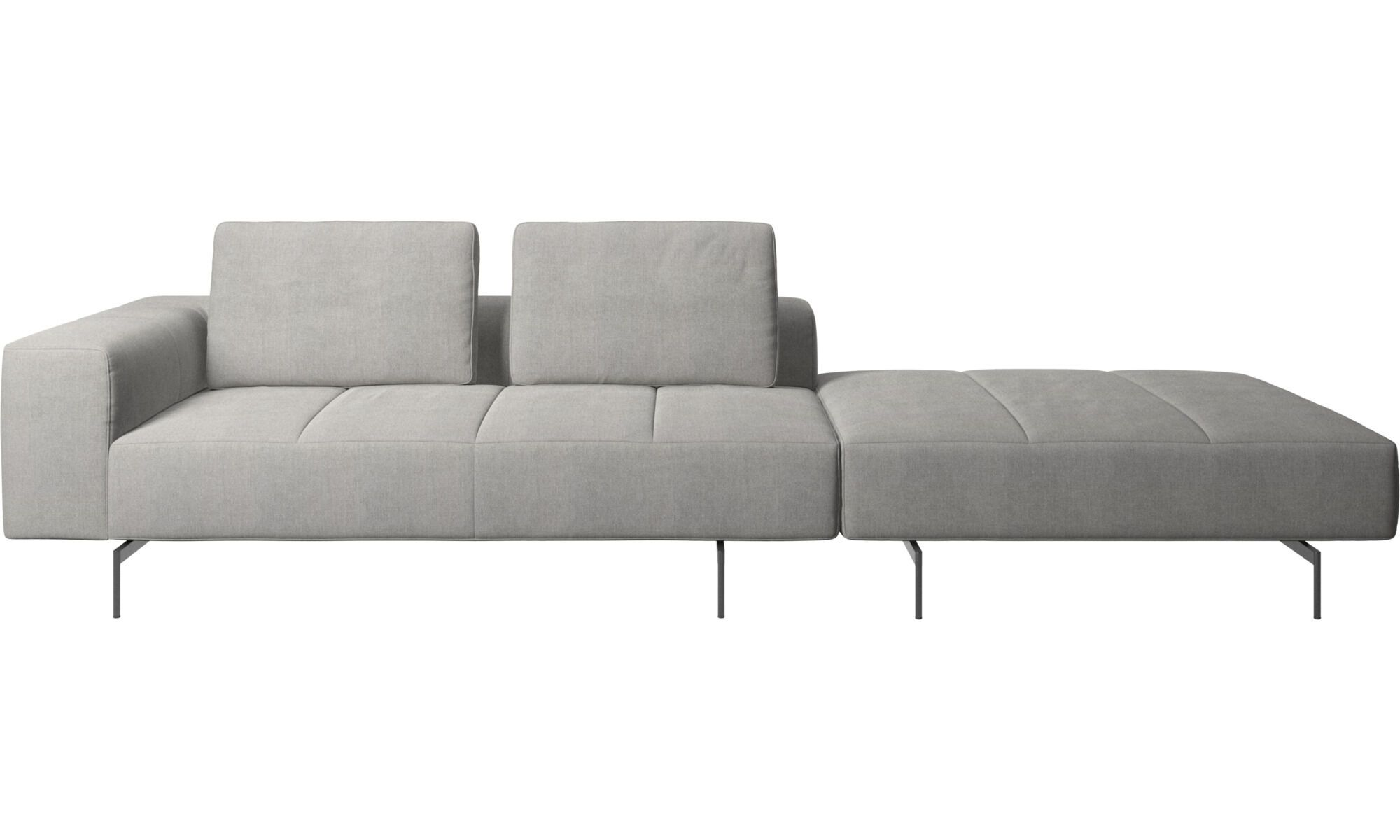 Modular Sofas Amsterdam Sofa With Footstool On Right Side In 2021 Boconcept Sofa Modular Sofa