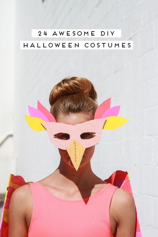 24 Awesome DIY Halloween Costume Ideas DIY Halloween, Halloween - different halloween costume ideas