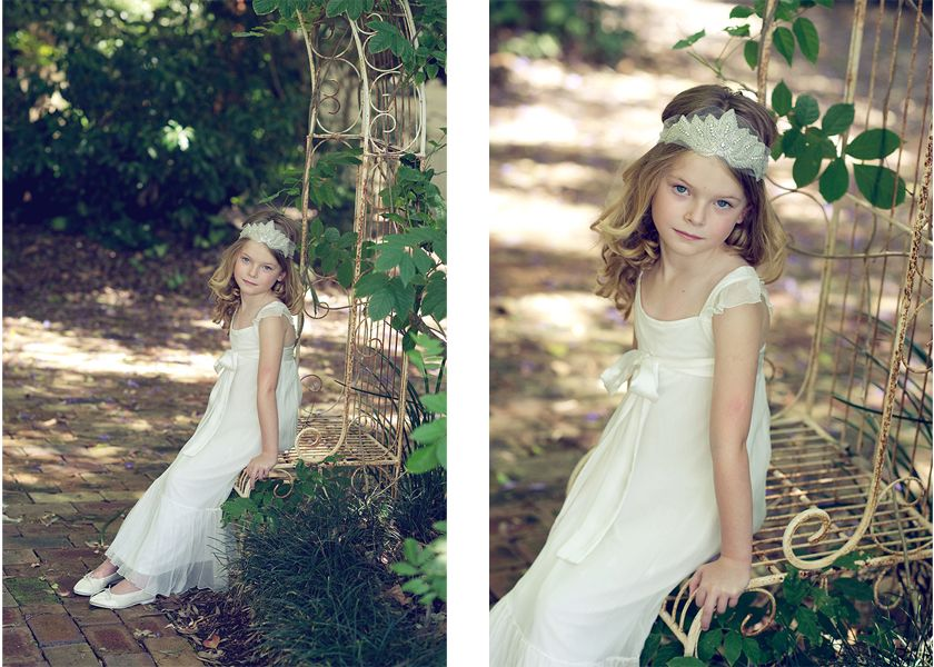 I would love this Tea Princess dress and headpiece for myself. Just gorgeous!