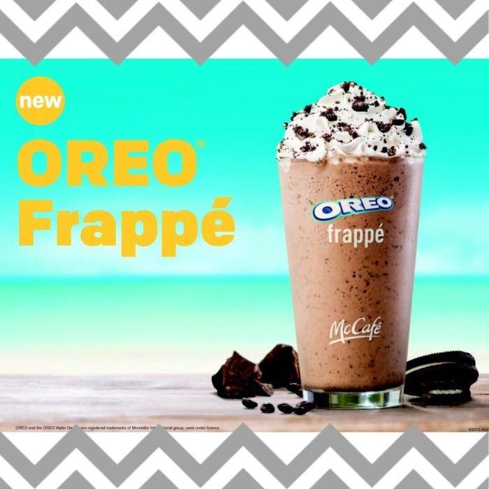 Treat Yo'self with an Oreo Frappe from McDonalds #oreofrappe #mcdonalds #brandambassador