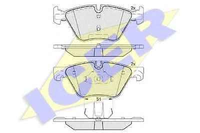 #Genuine icer bmw 5 #series f10 & f11 front #brake pads 34116796844 34116775310,  View more on the LINK: 	http://www.zeppy.io/product/gb/2/282120017301/