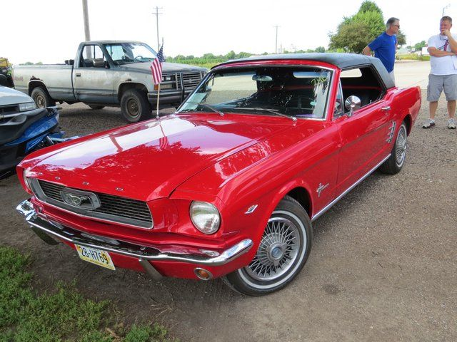 A Retractable Roof 1966 Ford Mustang Favorite Fords