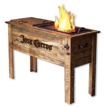 Awe Inspiring Jose Cuervo Chilln Grill Hand Crafted Wooden Cooler And Inzonedesignstudio Interior Chair Design Inzonedesignstudiocom