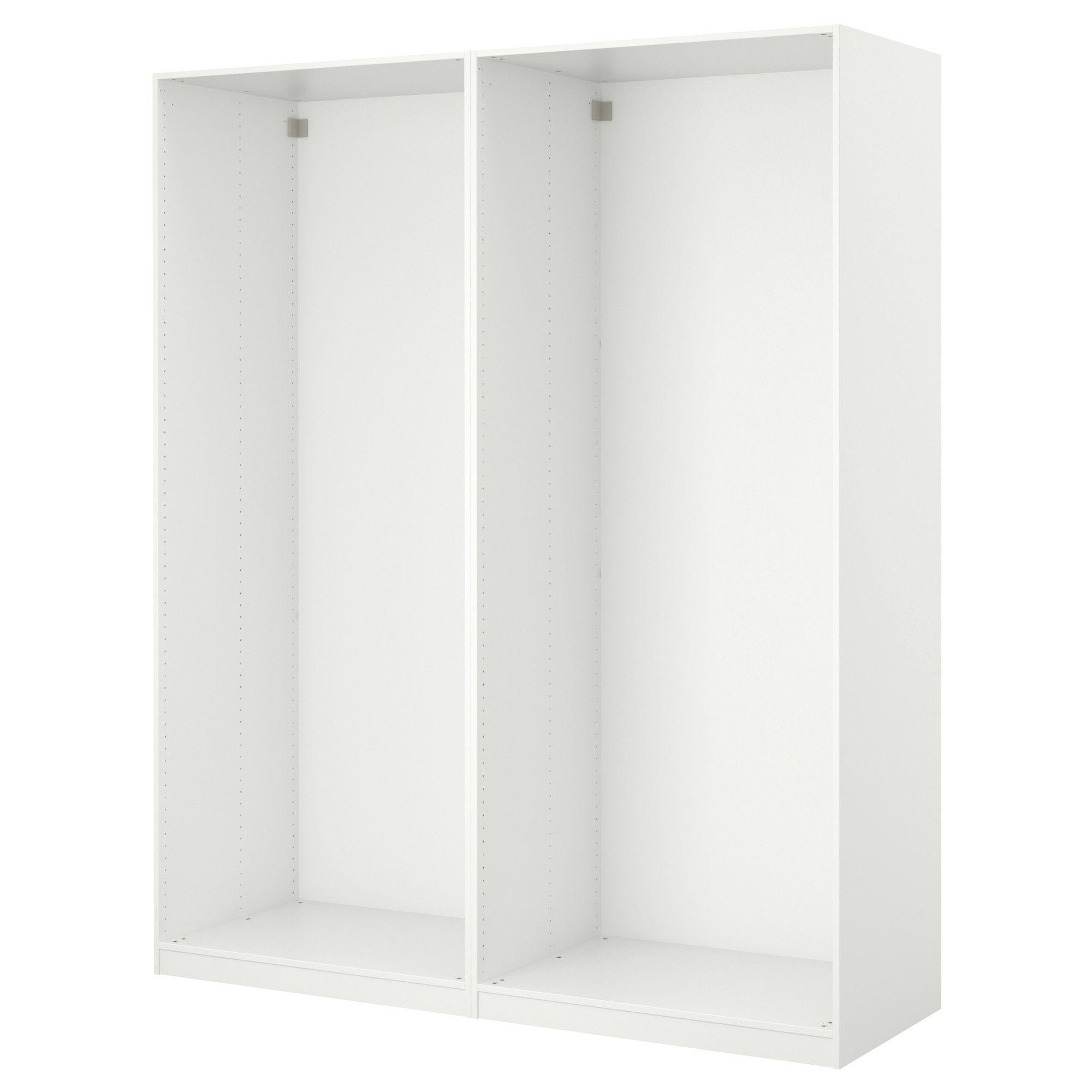Aneboda Garderobekast Wit.Pax 2 Basiselementen Kledingkast Wit Closet Pax Closet Pax