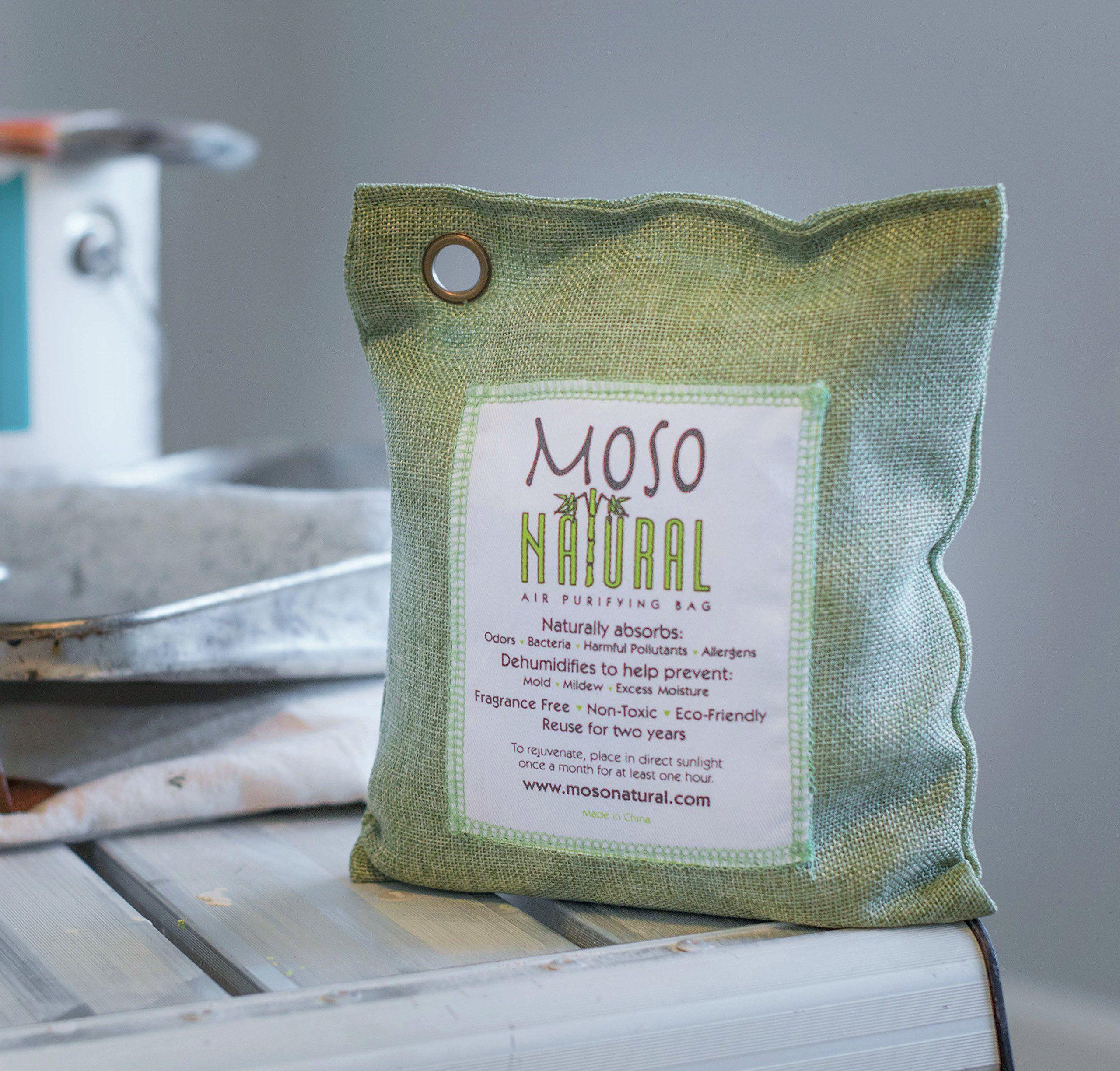 Moso Natural Air Purifying Bag 500Grams. Natural Odor