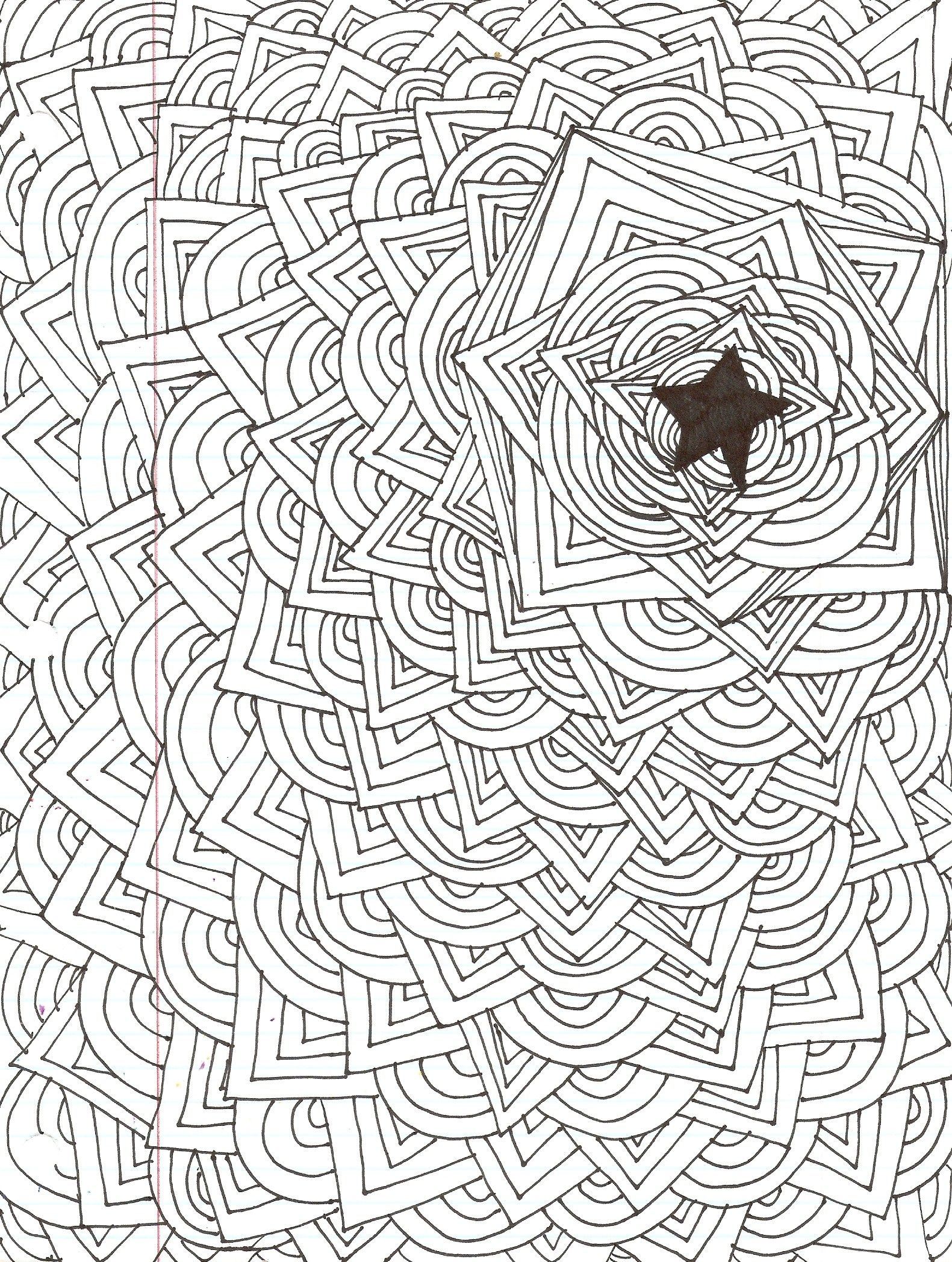cool easy designs to draw abstract star design kiki
