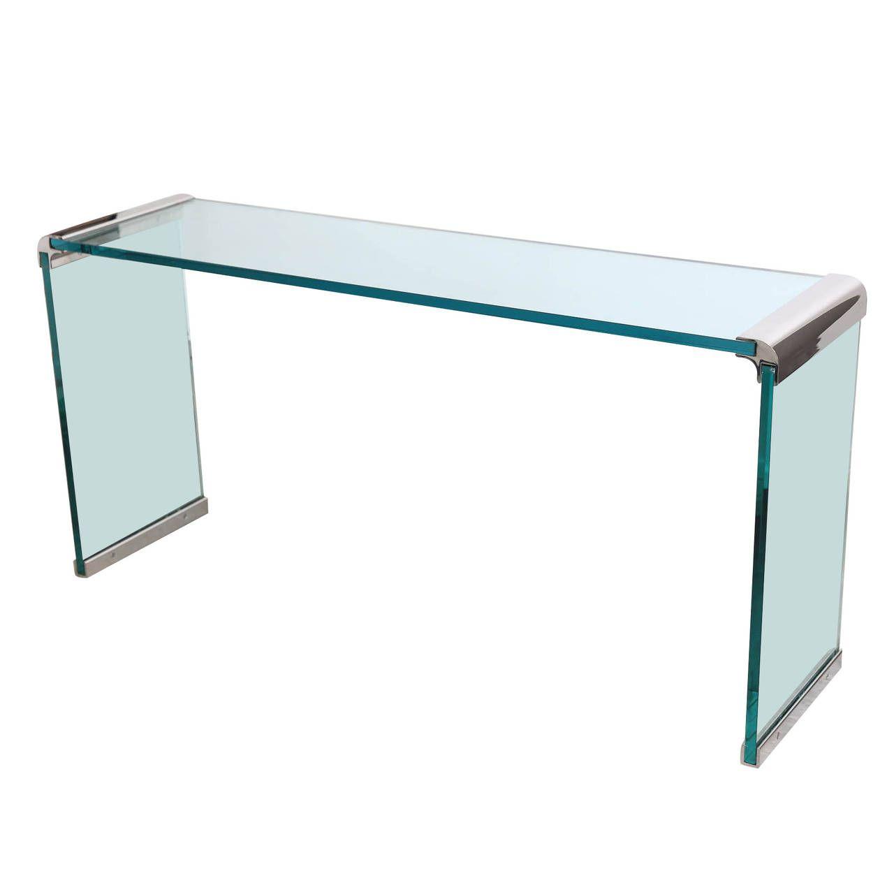 44+ Vintage glass waterfall coffee table ideas
