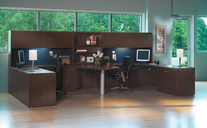 2 Person Office Layout Irrational The Leader Transitional Lamimate Mayline Aberdeen Home Design Ideas 8