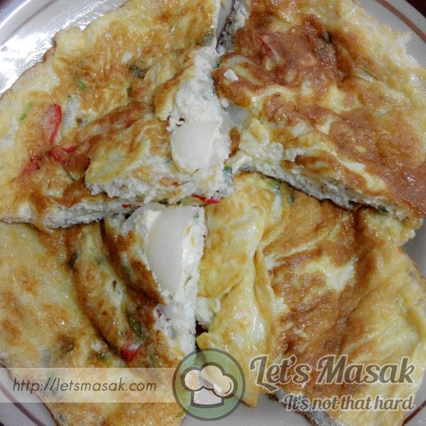 Telur Dadar Mayonis Recipe By Illaijam Letsmasak Com Recipe Recipes Food Indonesian Food