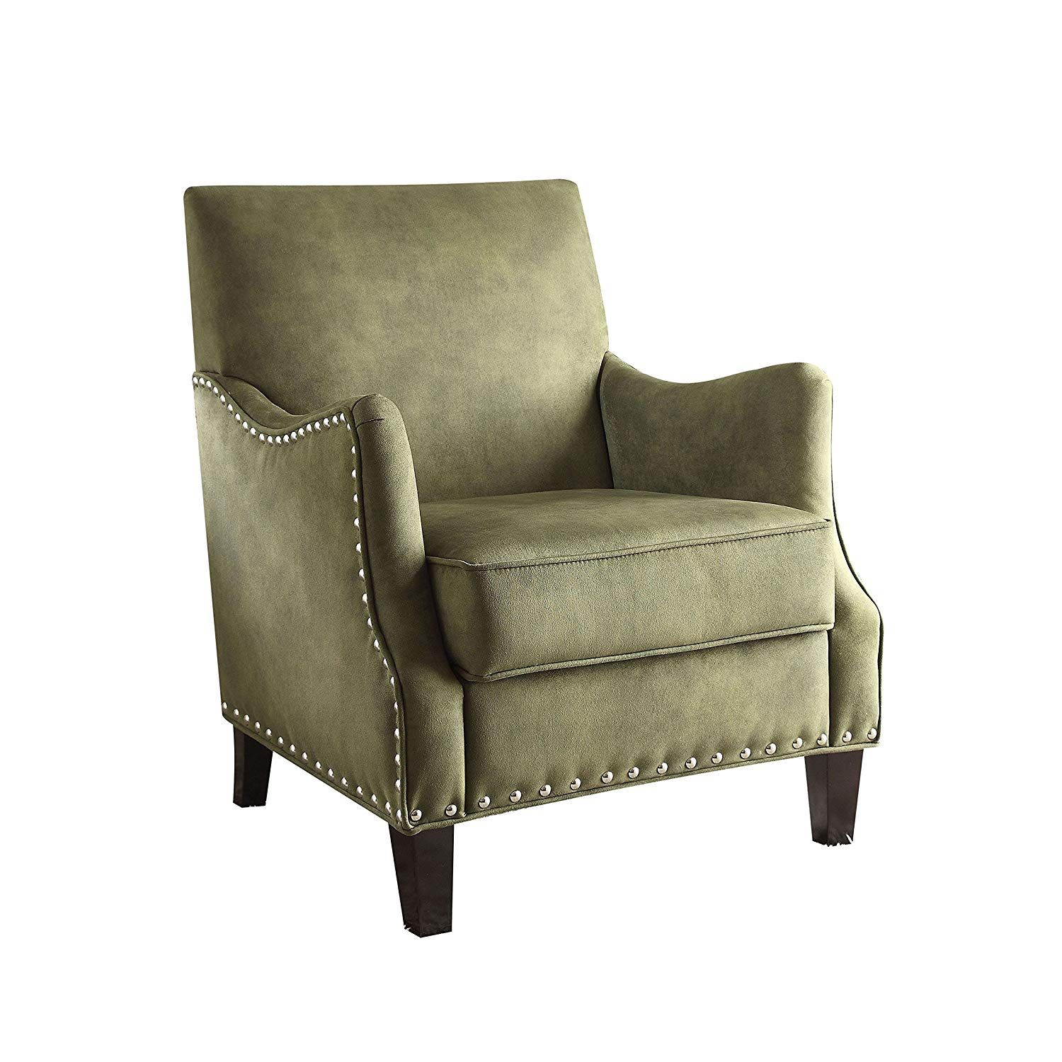 Surprising Amazon Com Acme Furniture 59446 Sinai Accent Chair Olive Gmtry Best Dining Table And Chair Ideas Images Gmtryco
