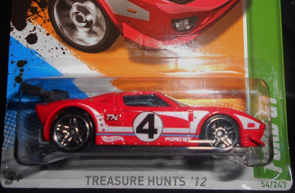 Hot Wheels Treasure Hunts 12 Ford Gt Hotwheels Ford With