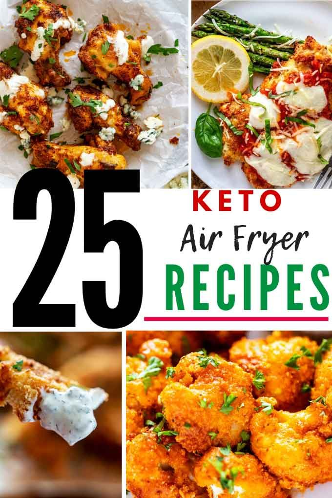 25 Keto Air Fryer Recipes