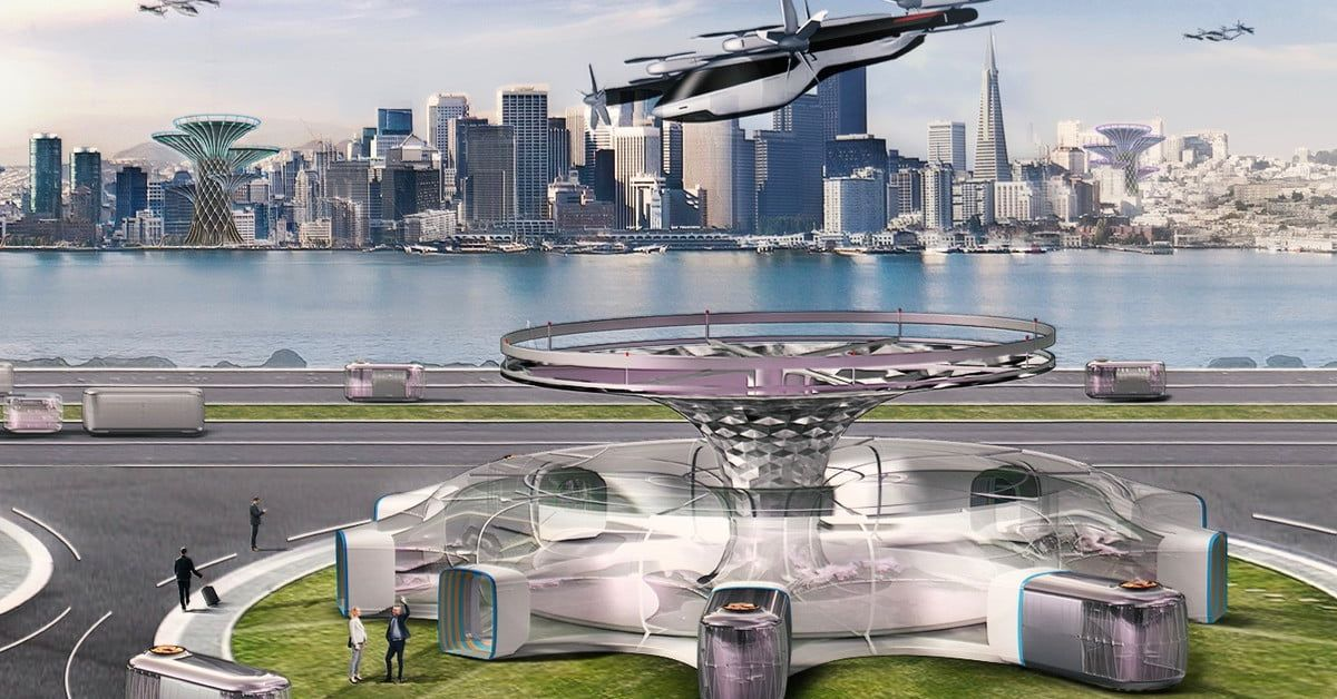 Hyundai Will Bring Flying Car Concept To Ces 2020 Digital Trends Flying Car Concept Cars Hyundai