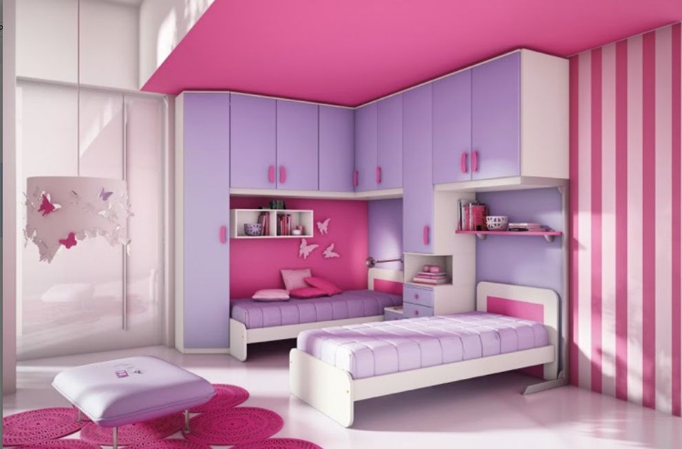 Beautiful Girl Room Design Idea Id Girls Bedroom Interior - Beautiful girl bedrooms