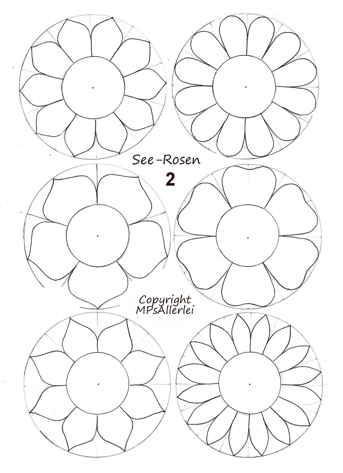Mps Allerlei Ausdruckvorlage Seerosen 2 In 2020 Vorlagen Blumen Basteln Blumen Vorlage Blumen Basteln