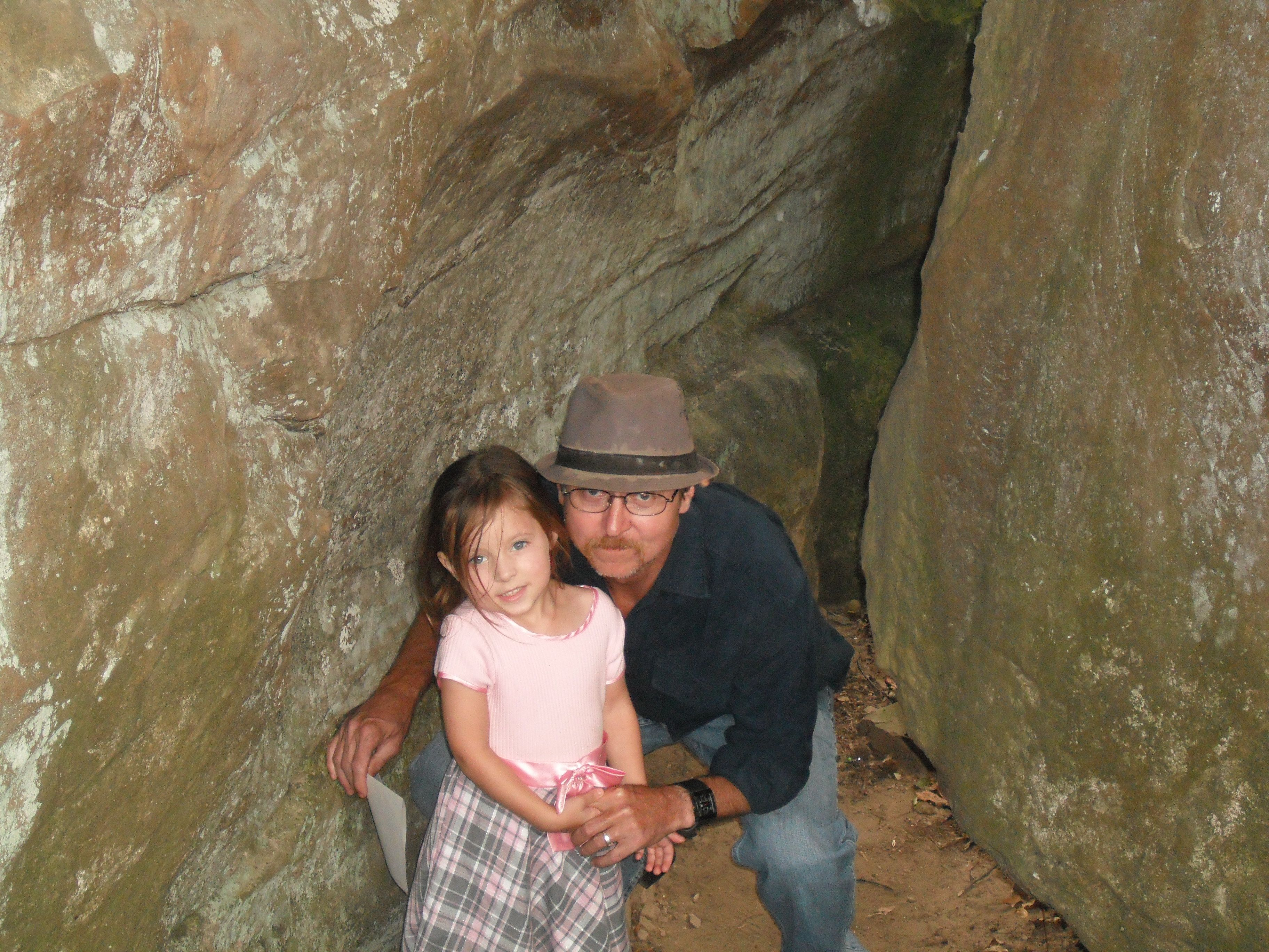 My daughter and Daddy at Horse Pens 40