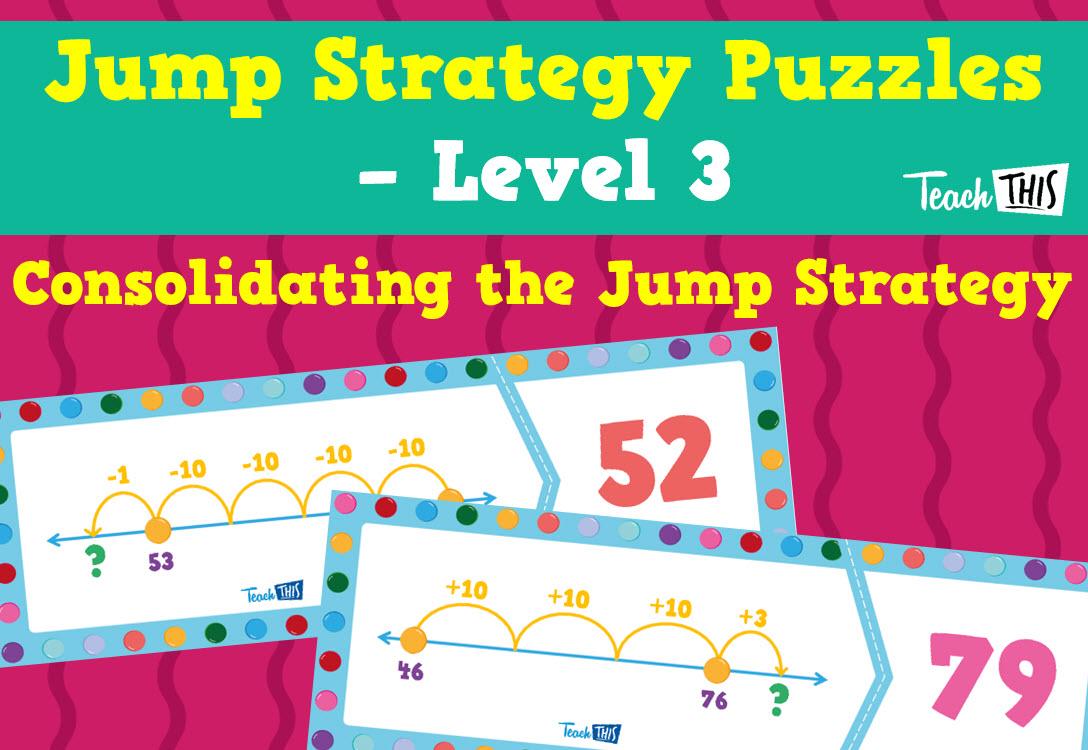 Jump Strategy Puzzles - Level 3 | Mathematics | Pinterest ...