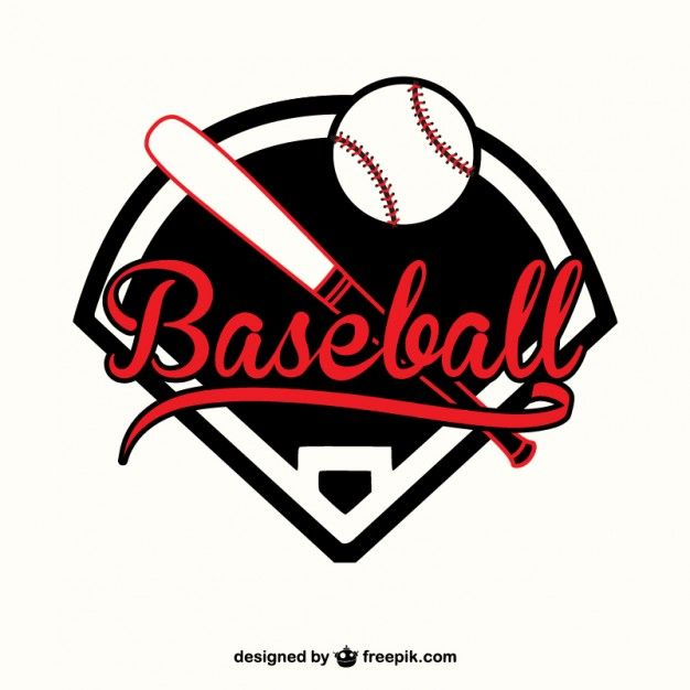 Download Red And Black Baseball Logo For Free Baseball Wall Art Baseball Vector Baseball Quilt