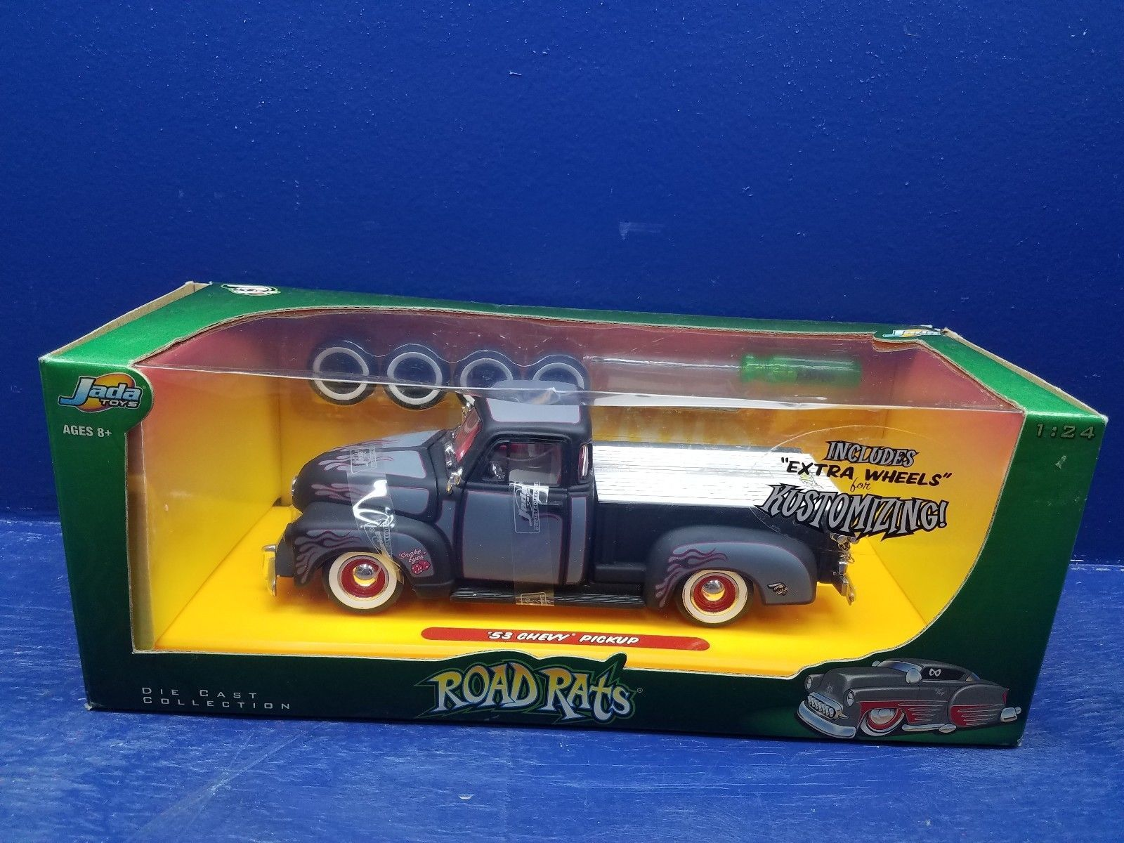 Rare road rats jada toys  diecast chevy pickup truck   Chevy