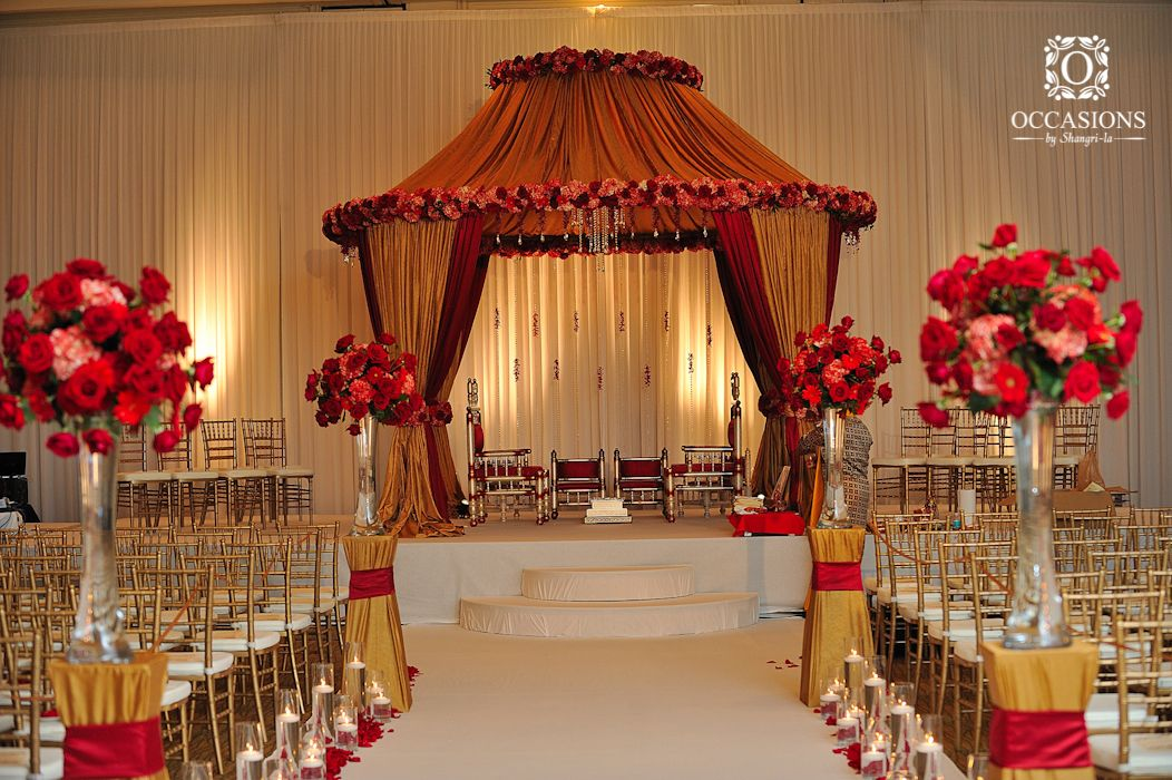 Indian Wedding Mandaps  Event Decorators : Occasions By Shangri