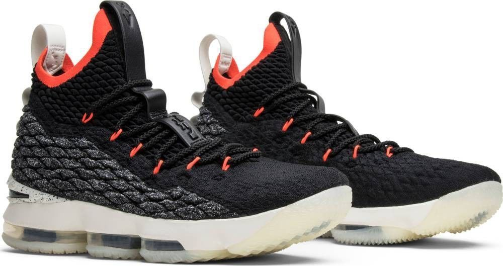 82ff1d8aa5d41  160 Nike Lebron James XV Youth Size 5Y Black White Sail Crimson AQ6176-002  NEW  fashion  clothing  shoes  accessories  kidsclothingshoesaccs   boysshoes ...
