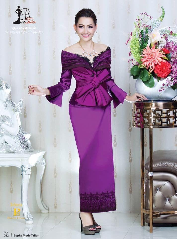 Pin von Victoria Q auf khmer traditional clothes | Pinterest | Kleider