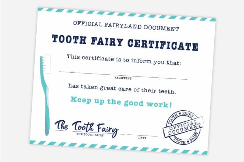 Free Printable Tooth Fairy Certificate Receipt Envelope Inside Tooth Fair In 2020 Tooth Fairy Certificate Tooth Fairy Receipt Free Printable Tooth Fairy Receipt Free
