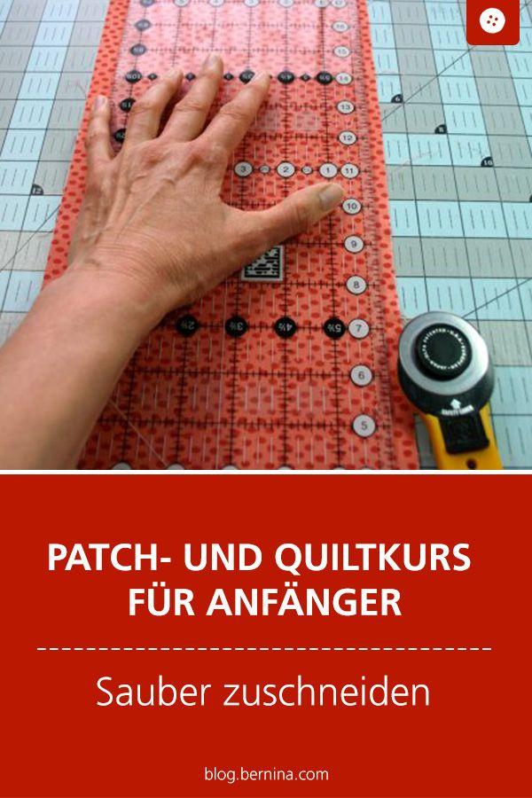 Photo of Patch- und Quiltkurs für Anfänger (2) » BERNINA Blog
