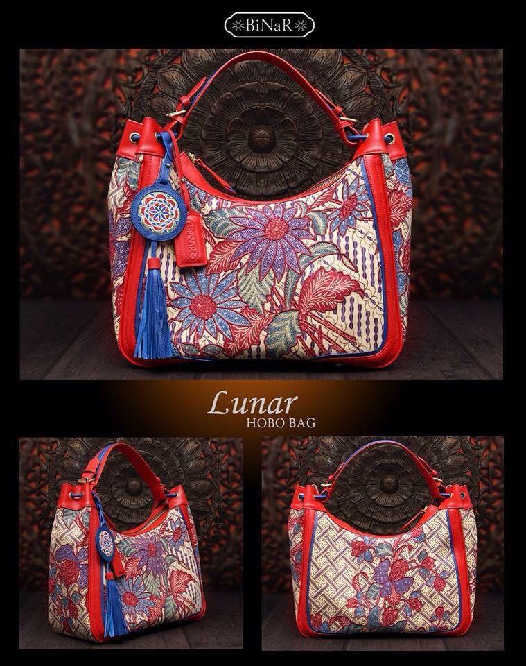 Love this bag so much. Made from Adik Bayi Batik, vintage and handrawned Indonesian Batik. Bag designed from Binar (Luisa Binar).