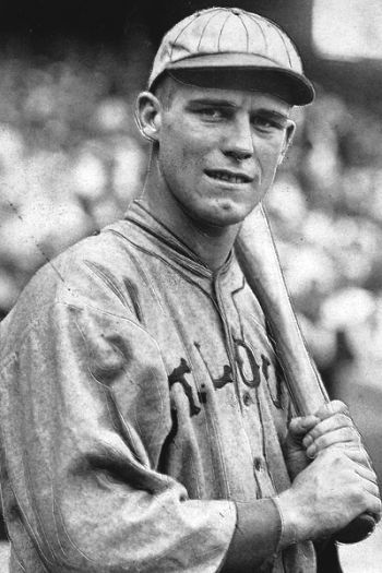 George Sisler | Sisler's 1922 season — during which he batted .420, hit  safely in a then-record 41 con… | Famous baseball players, Baseball star,  Cardinals baseball