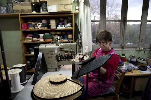 Traditional hat making in France in 2020 | Hat making, How ...