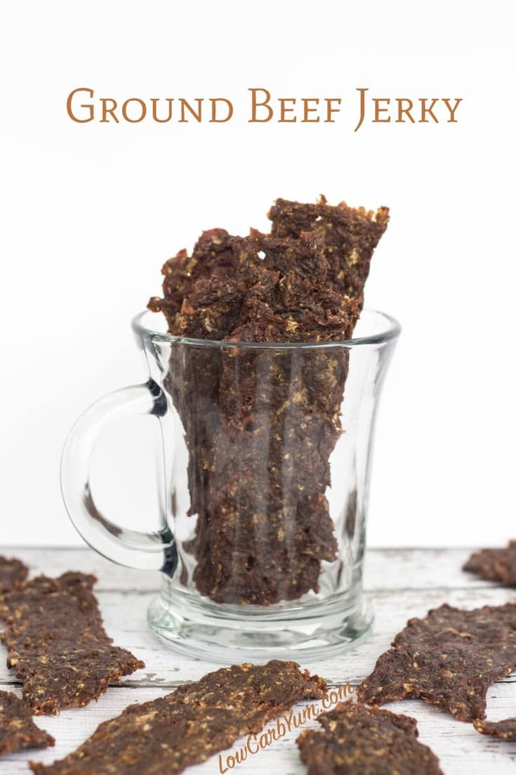 Low Carb Spiced Ground Beef Jerky Recipe Ground Beef Jerky Recipe Jerky Recipes Beef Jerky Recipes