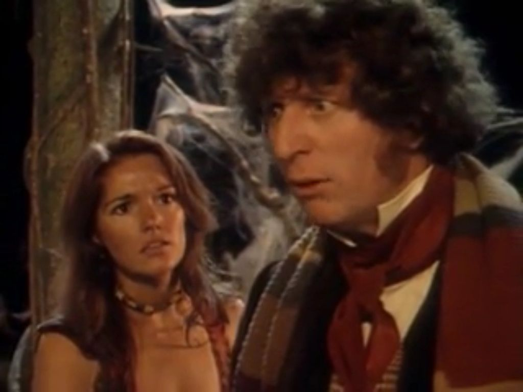 The 4th Doctor and Leela