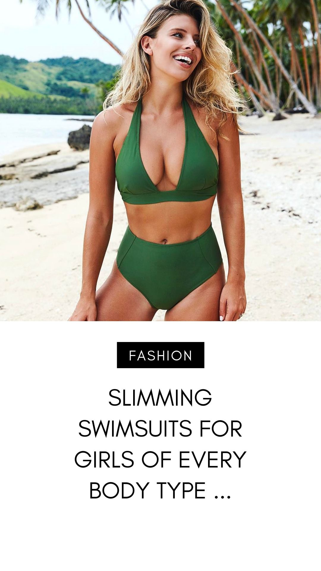 97feb168fac13 Takeaway: What's the best slimming swimsuit style for my body shape? We've  found slimming swimsuits for girls of every body type! According…