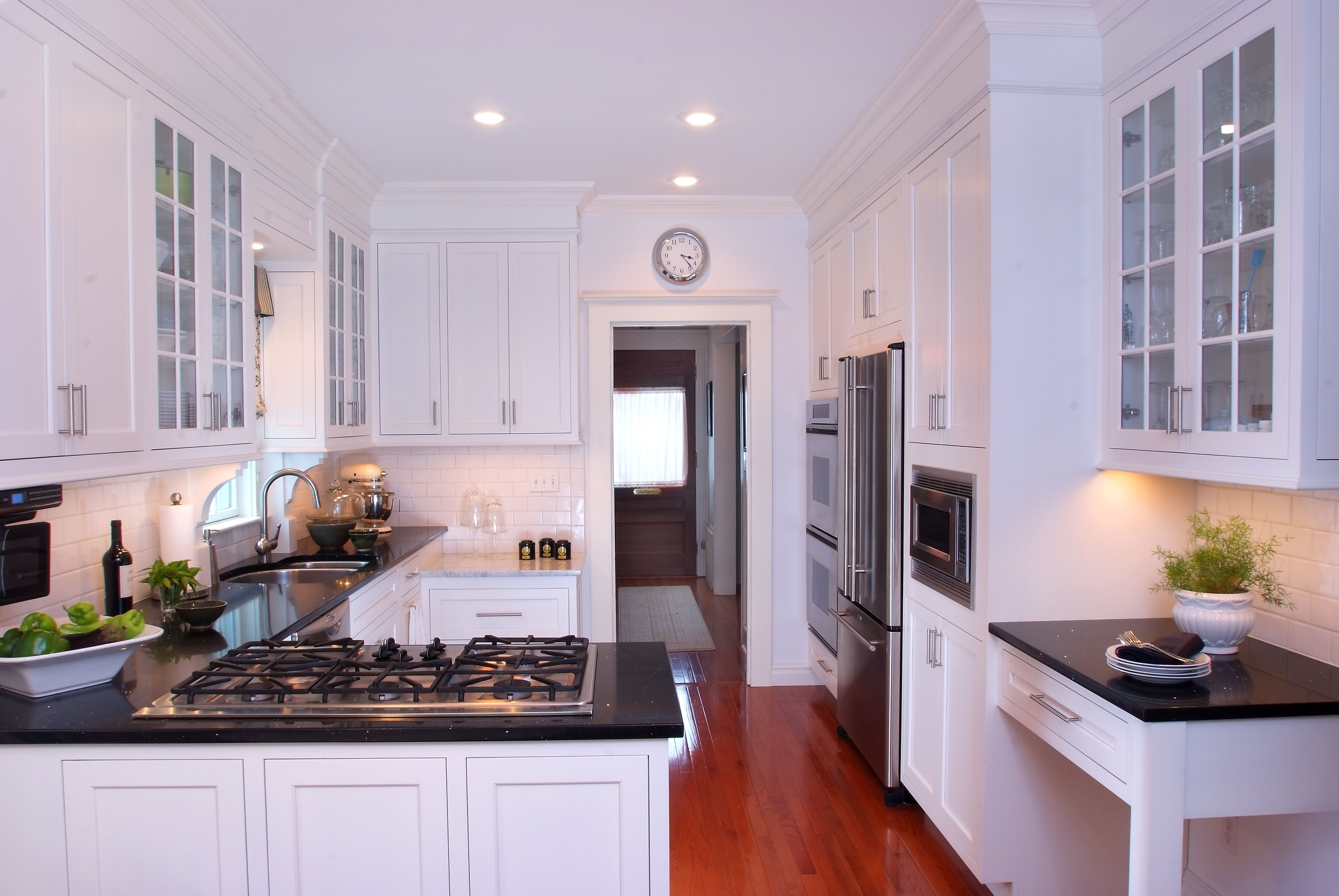 Classic and timeless kitchen with inset cabinetry