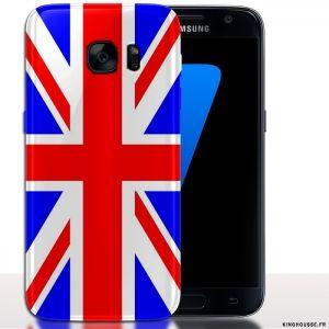 Coque Mobile Samsung S7 Union Jack Housse Drapeau Anglais Samsung Drapeau Anglais Telephone Portable Samsung