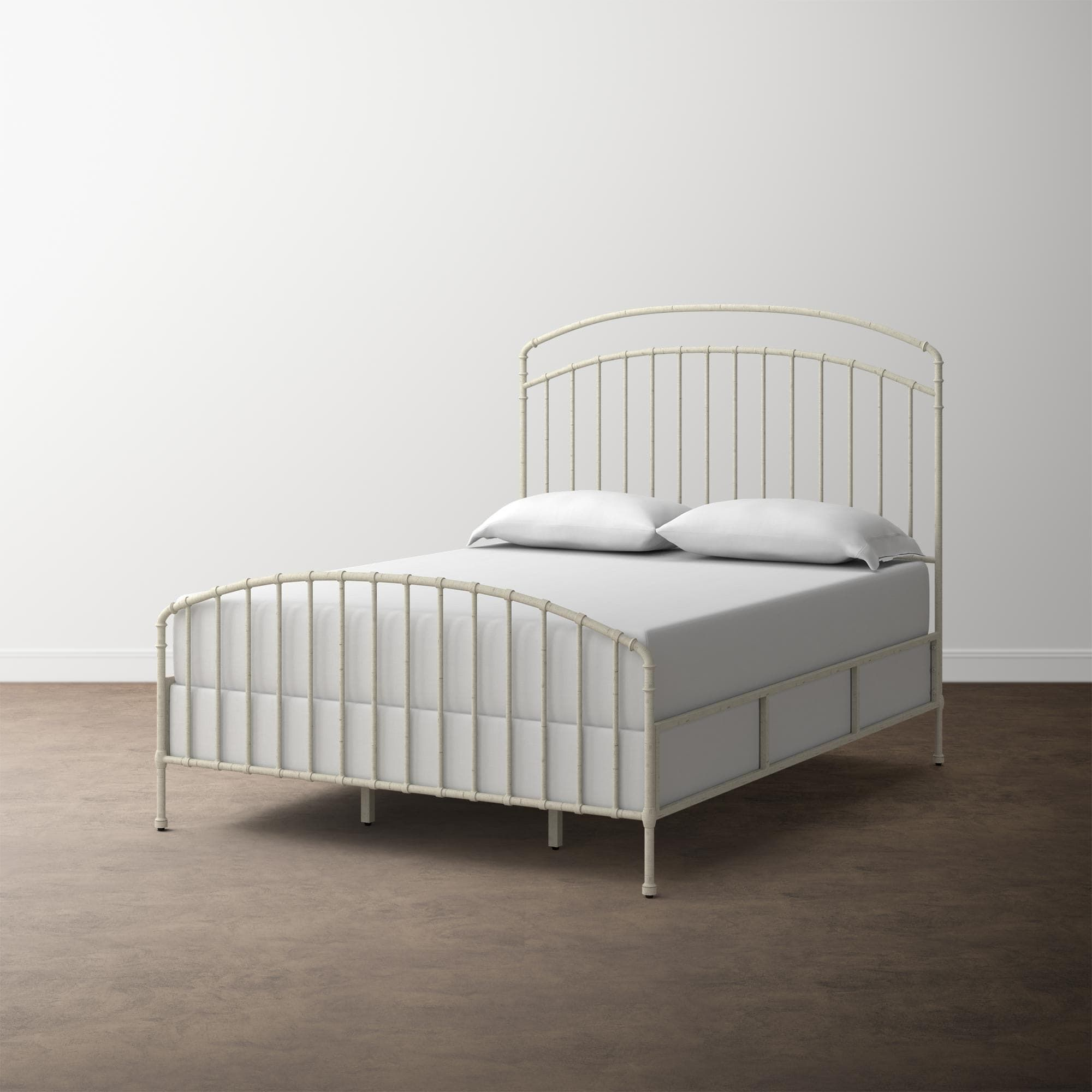 Miriam Cal King Bed In Multiple Finishes Wood Metal Beds Cal King Bedding Bed