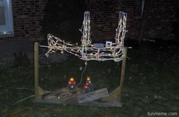 redneck christmas decorations - Redneck Christmas Lights