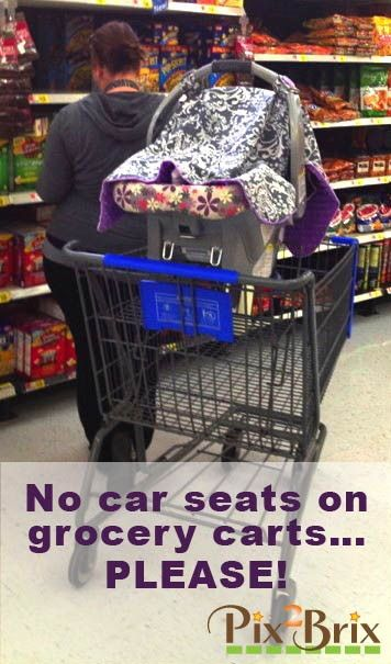 No Car Seat In Grocery Cart