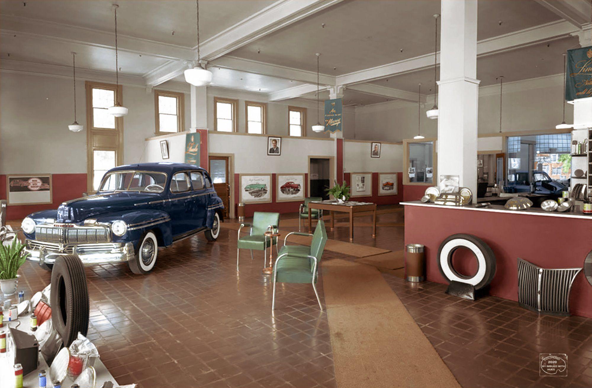1947 1948 Gordon Davis Motor Sales Inc Lincoln Mercury Utica Ny In 2020 Utica Car Dealership Car Dealer