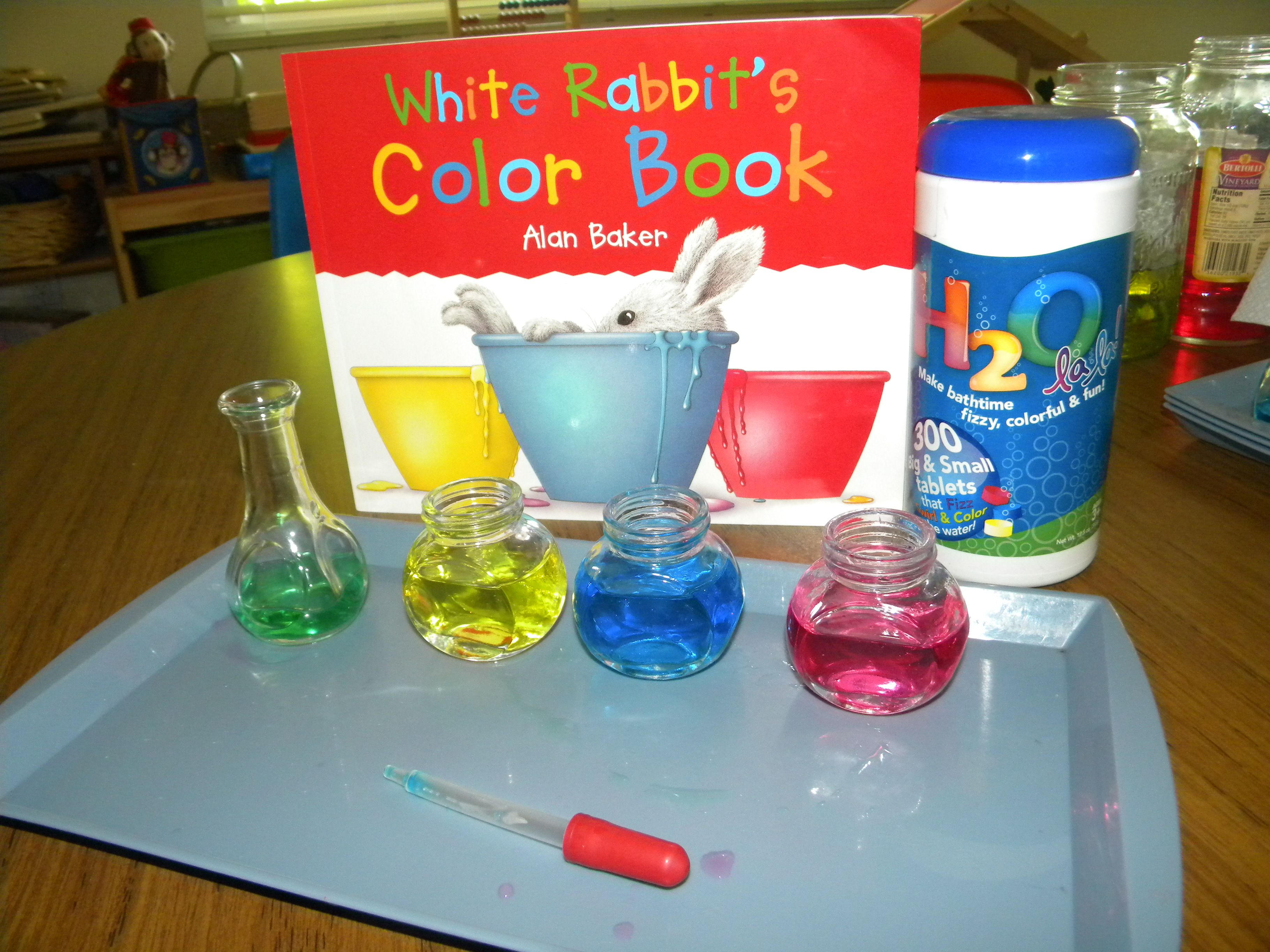 Color Mixing Activity Target Colors And Mixing Language
