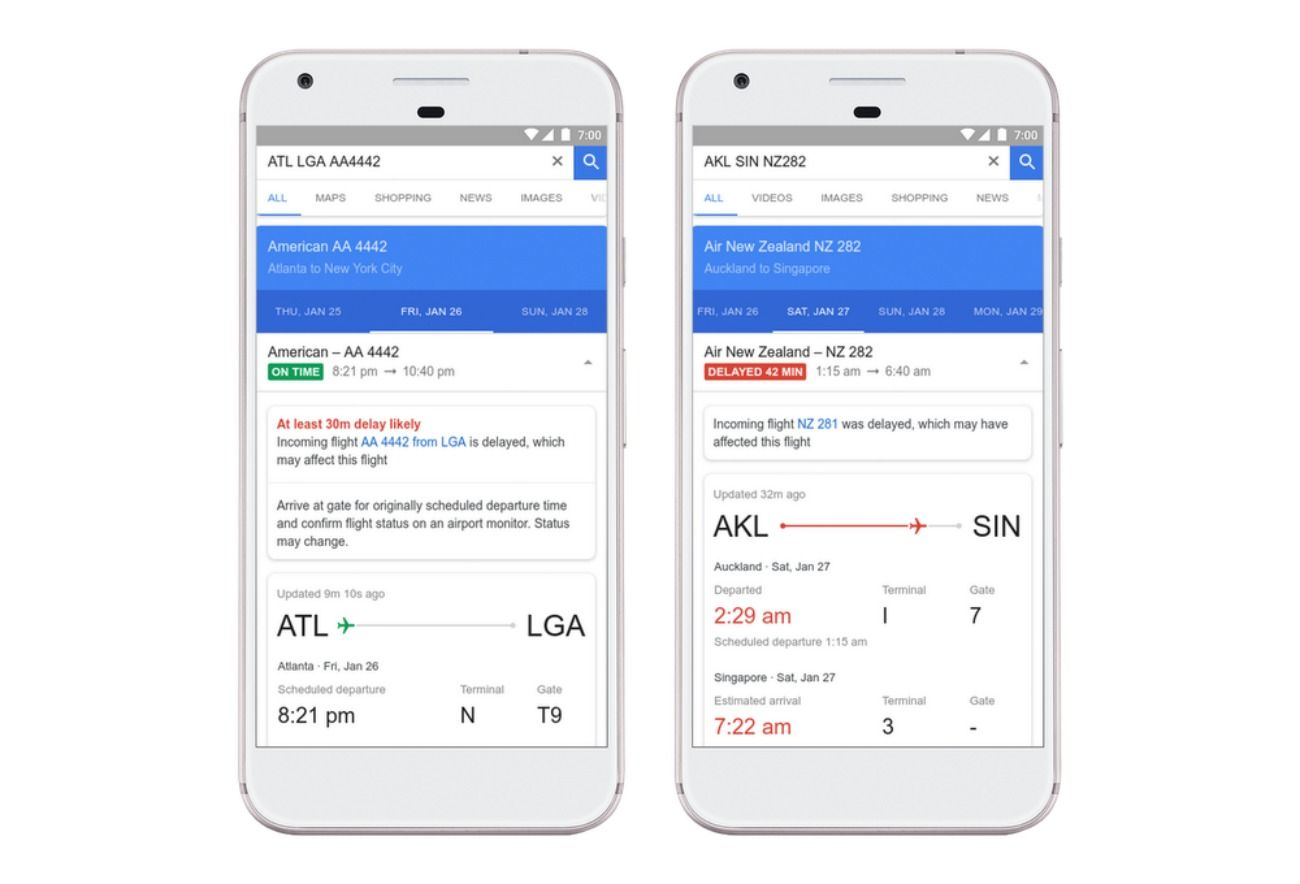 Google Flights Will Now Help You Predict Delays Machine