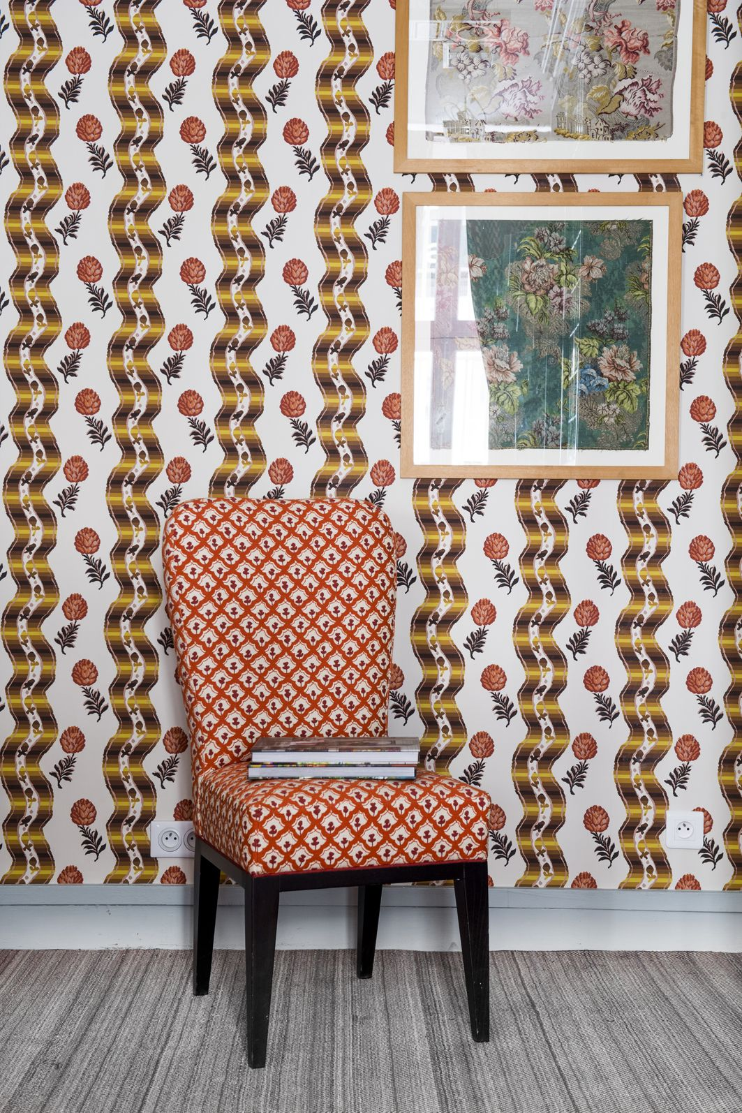 HERITAGE, first wallpaper collection from Le Manach by La Maison Pierre Frey PARIS DECO OFF